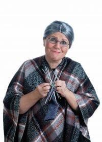 Sabine Essinger als Oma Fleischle